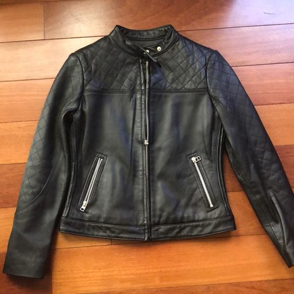Moda International Jackets & Blazers - Moda International 100% Real Leather Moto Jacket